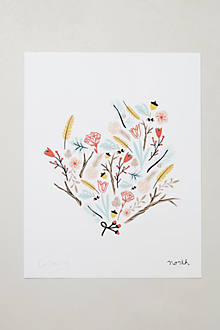Botanical Print By Caitlin McClain
