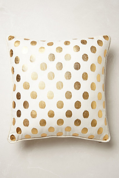 Sale alerts for Anthropologie Luminous Dots Pillow - Covvet
