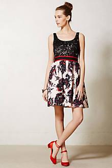 Brushstroke Blossoms Dress