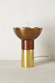 Golden Goblet Torchiere
