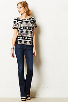 A Gold E Juliette Slim Bootcut Jeans
