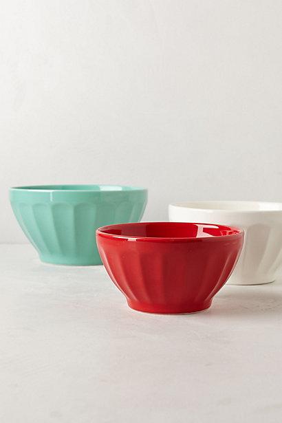 Sale alerts for Anthropologie Latte Mixing Bowls - Covvet
