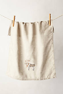 Reindeer Dishtowel