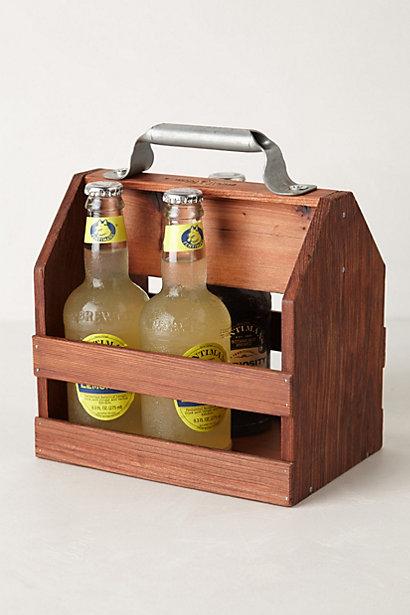 Sale alerts for Anthropologie Wooden Beverage Caddy - Covvet
