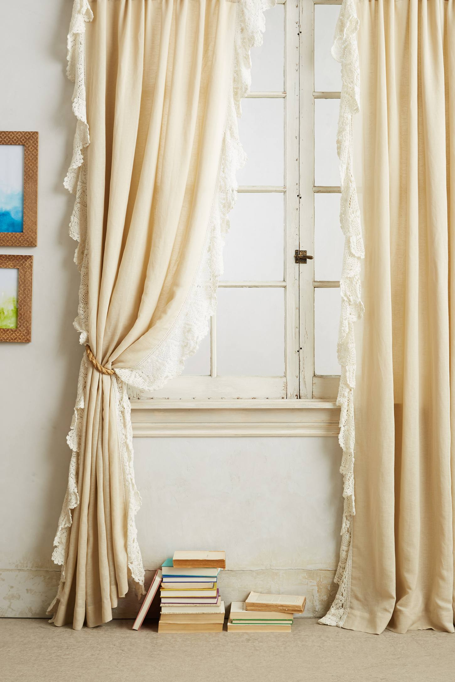Ombre Lace Curtain
