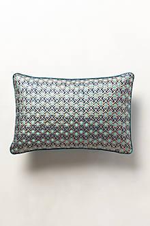 Aqua Repeat Pillow
