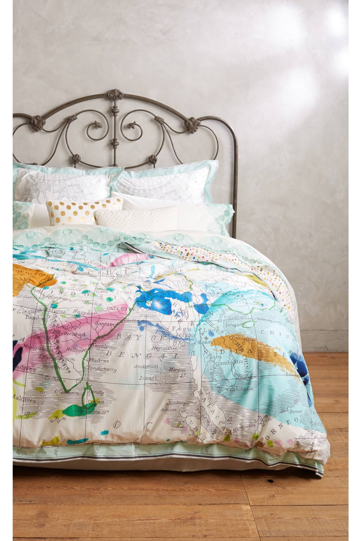 Tradewinds Duvet by Anthropologie