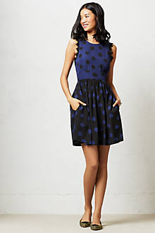 Split Dots Dress