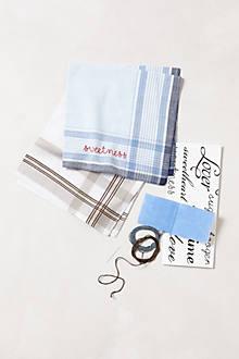 Handkerchief Embroidery Kit