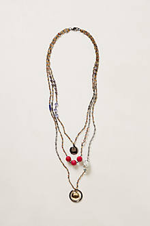 Hendy Hollow Layered Necklace