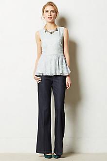 Level 99 Newport Wide-Leg Trousers