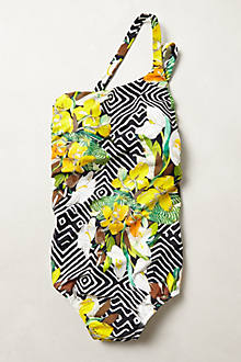 Lenny Niemeyer Geo-Floral Maillot