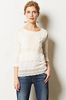 Crocheted Heirloom Pullover