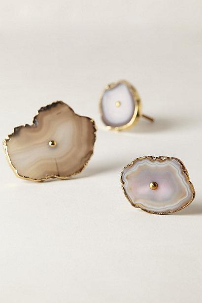 Sale alerts for Anthropologie Swirled Geode Knob - Covvet