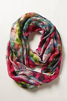 Blushing Floral Infinity Scarf