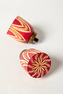 Handcarved Lotus Finials