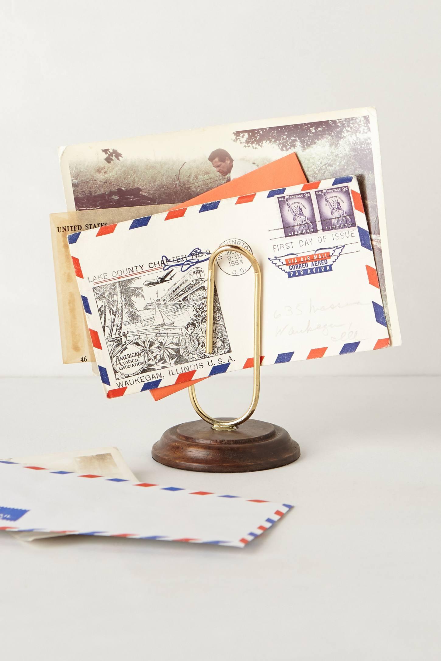 Paper Clip Letter Holder