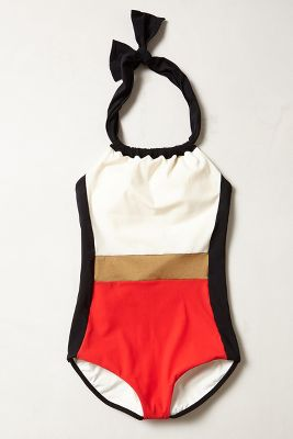 Touche Colorblocked Maillot