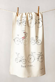 Pedal Power Dishtowel