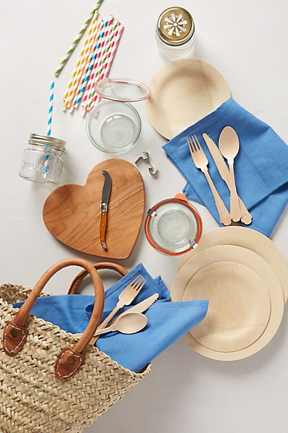 Sale alerts for Anthropologie Picnic-For-Two Basket - Covvet
