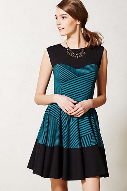 Sale alerts for Anthropologie Stripe Swing Dress - Covvet