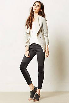 Paige Cara Zip Skinny Jeans