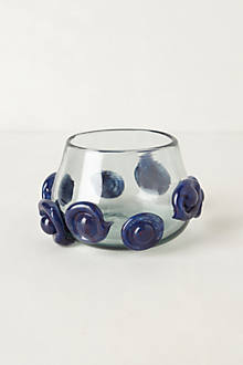 Bubbled Glass Votive