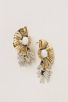 Fringed Linzer Earrings