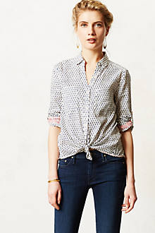 Crosshatched Buttondown
