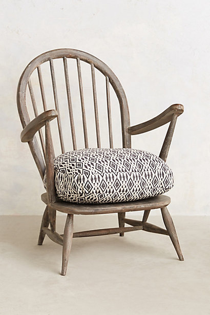 Cushioned Woodwork Chair