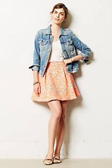 Jacquard Swing Skirt