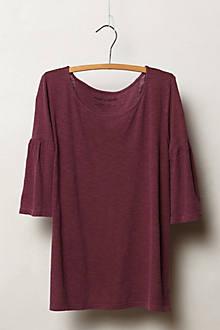 Slubby Bell Sleeve Pullover