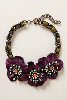 Midnight Blooms Necklace