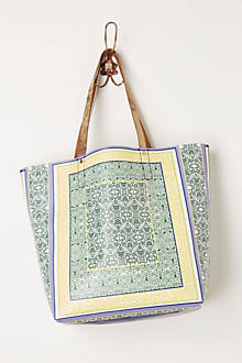 Green Isle Shopper Tote