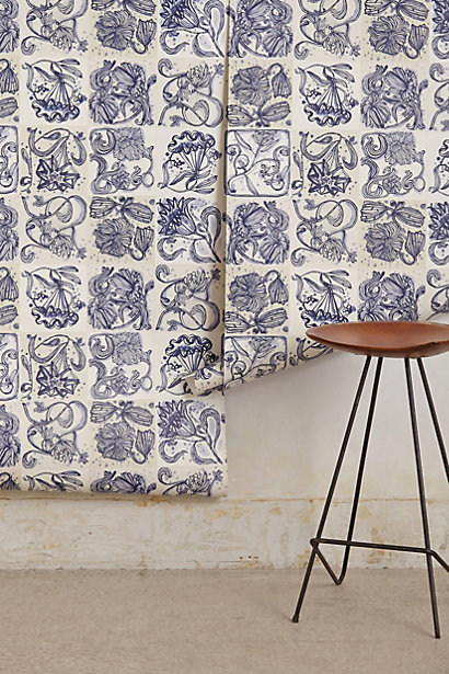 Sale alerts for Anthropologie Jardin Des Plantes Wallpaper - Covvet