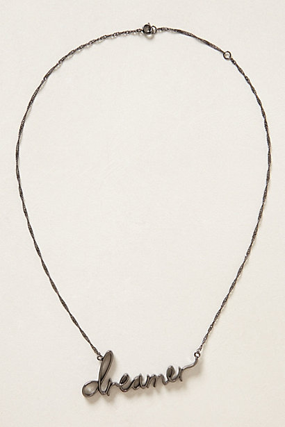 Sale alerts for Anthropologie Sweet Nothings Necklace - Covvet