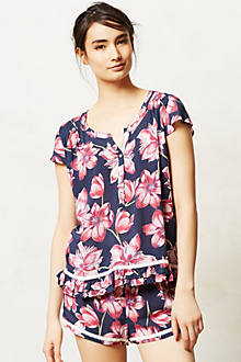 Camellia Sleep Top
