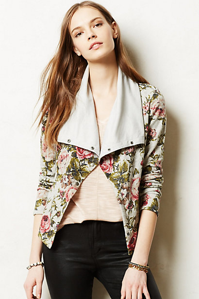 Sale alerts for Anthropologie Florascape Moto Jacket - Covvet