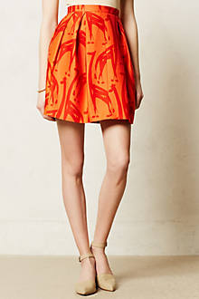Grasslands Brushstrokes Skirt