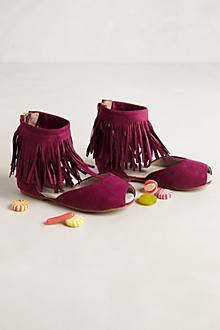 Foy Fringe Children's Booties