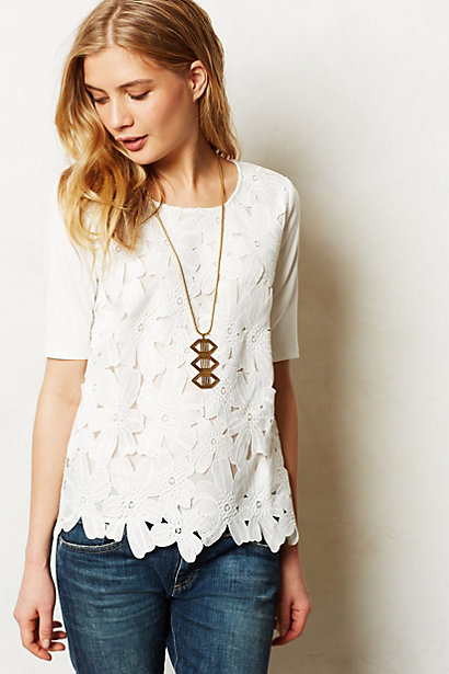 Sale alerts for Anthropologie Orlaya Top - Covvet