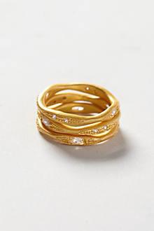 Lyrical Ring Set