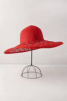 Crimson Trellis Sun Hat