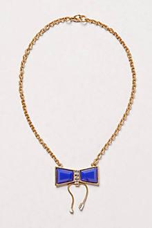 Azul Bow Necklace