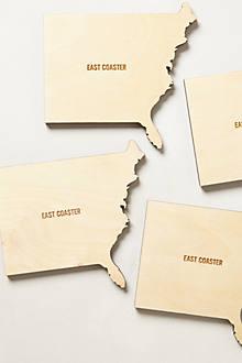 Coast-To-Coast Coaster Set