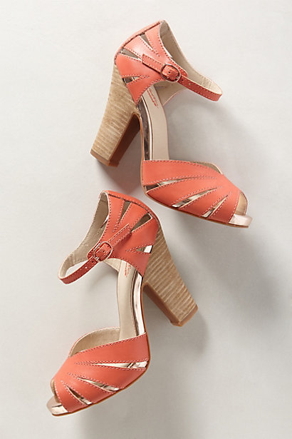 Sale alerts for Anthropologie Loro Heels - Covvet