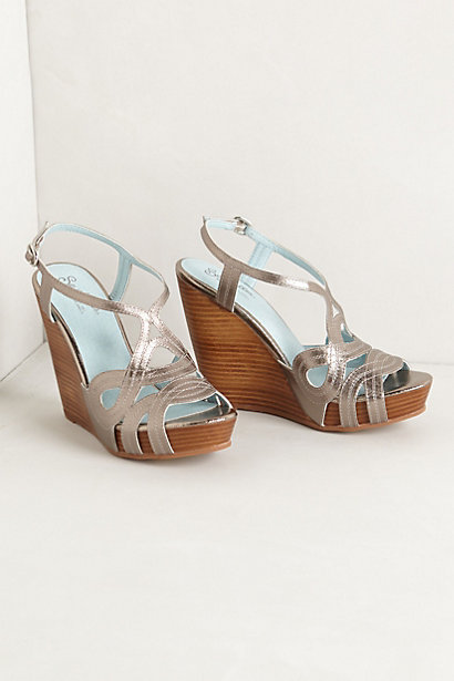 Sale alerts for Anthropologie Floriana Cutwork Wedges - Covvet