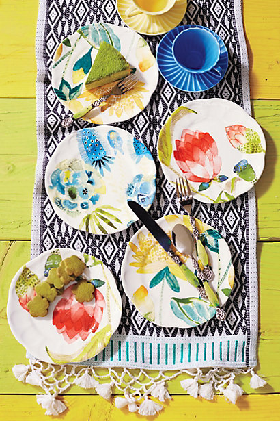 Sale alerts for Anthropologie Garden Buzz Dessert Plate - Covvet