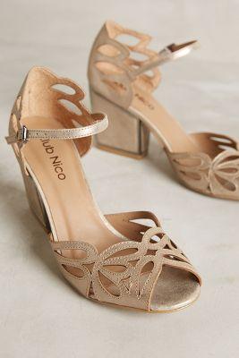 Floristry Cutwork Heels