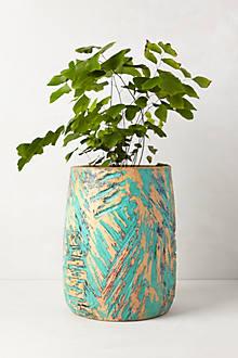 Handcarved Samanea Vase